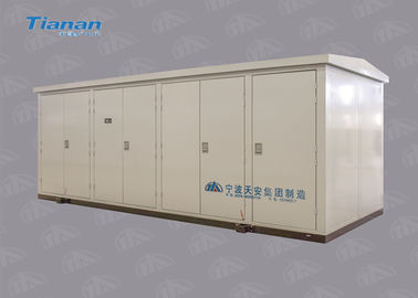 Prefabricated Industrial Compact Power Distribution Substation For Outdoor 50Hz